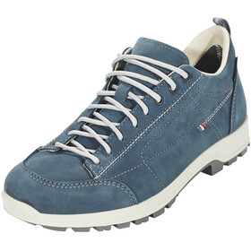 High Colorado Ischgl Low High Tex Trekkingschuhe Damen blau